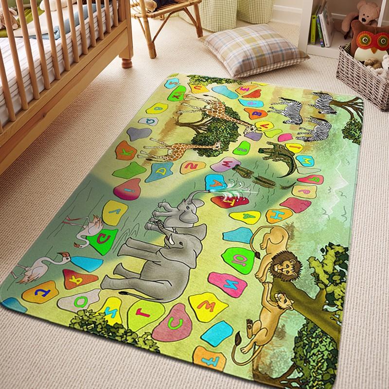 Dětský koberec SAFARI