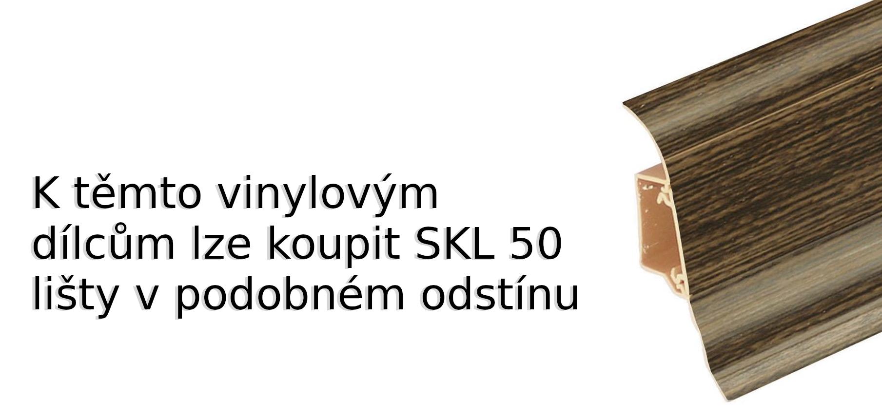 SKL 50 lišty